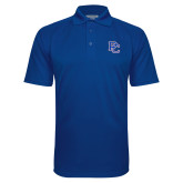 College Royal Textured Saddle Shoulder Polo-PC