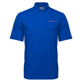 Royal Mini Stripe Polo-Blue Hose
