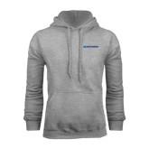 Grey Fleece Hood-Blue Hose