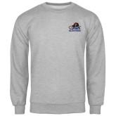 Grey Fleece Crew-Mascot