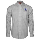Red House Grey Plaid Long Sleeve Shirt-PC