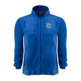 Fleece Full Zip Royal Jacket-PC