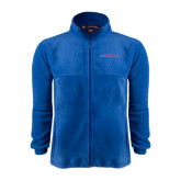 Fleece Full Zip Royal Jacket-Blue Hose