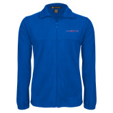 Fleece Full Zip Royal Jacket-Blue Hose