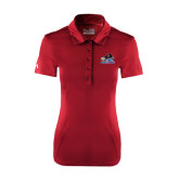 Ladies Under Armour Cardinal Performance Polo-Mascot