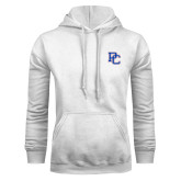 College White Fleece Hoodie-PC