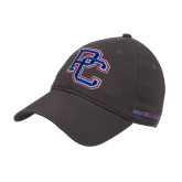 College Charcoal Twill Unstructured Low Profile Hat-PC