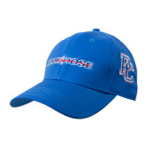 Royal Heavyweight Twill Pro Style Hat-Blue Hose
