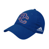 College Adidas Royal Slouch Unstructured Low Profile Hat-PC