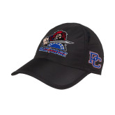 College Black Performance Cap-Mascot
