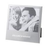 Silver 5 x 7 Photo Frame-Blue Hose Engraved