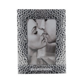 Silver Textured 4 x 6 Photo Frame-Blue Hose Engraved