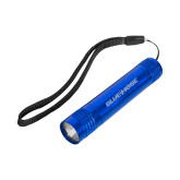Pluto Royal Slim Flashlight-Blue Hose Engraved