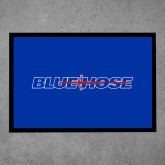 College Full Color Indoor Floor Mat-Blue Hose