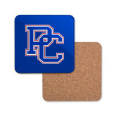 Hardboard Coaster w/Cork Backing-PC