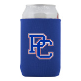 College Neoprene Royal Can Holder-PC