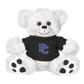 Presbyterian Plush Big Paw 8 1/2 inch White Bear w/Black Shirt-PC