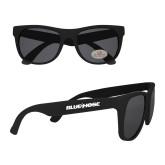 College Black Sunglasses-Blue Hose