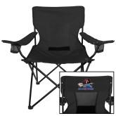 Deluxe Black Captains Chair-Mascot