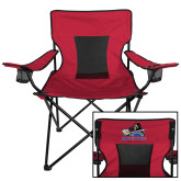 Deluxe Cardinal Captains Chair-Mascot
