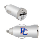 On the Go Silver Car Charger-PC
