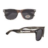 College True Timber Camo Sunglasses-Blue Hose