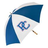 62 Inch Royal/White Umbrella-PC
