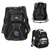 High Sierra Swerve Black Compu Backpack-PC