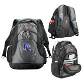 Presbyterian Wenger Swiss Army Tech Charcoal Compu Backpack-PC