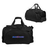 Challenger Team Black Sport Bag-Blue Hose