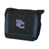 Saddle Bag Black w/ Blue-PC