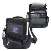 Momentum Black Computer Messenger Bag-PC