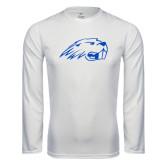 Syntrel Performance White Longsleeve Shirt-Beaver Head