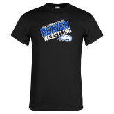 Black T Shirt-Pratt Community College Wrestling
