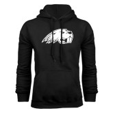 Black Fleece Hoodie-Beaver Head