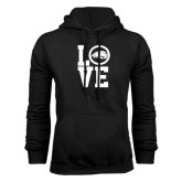 Black Fleece Hoodie-LOVE