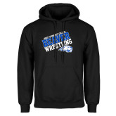 Black Fleece Hoodie-Pratt Community College Wrestling