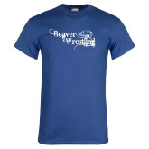 Royal T Shirt-Beaver Wrestling Distressed