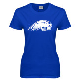Ladies Royal T Shirt-Beaver Head