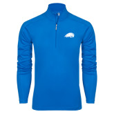 Syntrel Royal Blue Interlock 1/4 Zip-Beaver Head