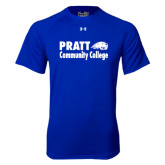 Under Armour Royal Tech Tee-Pratt Community College w/ Beaver Head