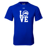 Under Armour Royal Tech Tee-LOVE
