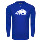 Under Armour Royal Long Sleeve Tech Tee-Beaver Head