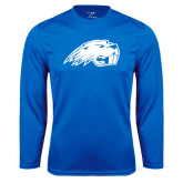 Performance Royal Longsleeve Shirt-Beaver Head