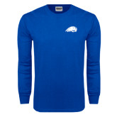 Royal Long Sleeve T Shirt-Beaver Head