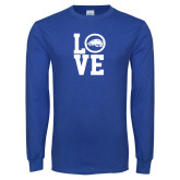 Royal Long Sleeve T Shirt-LOVE