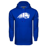 Under Armour Royal Performance Sweats Team Hoodie-Beaver Head