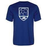 Syntrel Performance Royal Tee-Soccer Shield w/ Logo