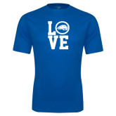 Performance Royal Tee-LOVE