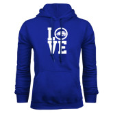 Royal Fleece Hoodie-LOVE